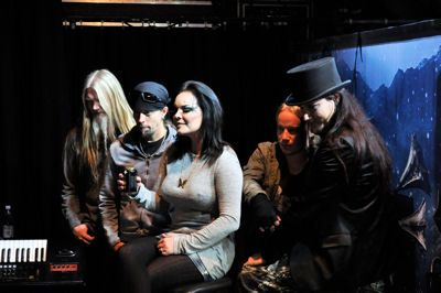 Nightwish at Nosturi rehearsals 2011