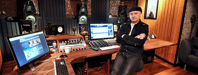 Mastering Engineer Mika Jussila in Finnvox D-Studio